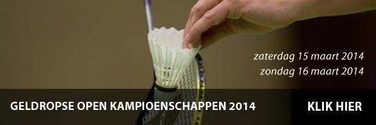 Geldropse Open Kampioenschappen 2014