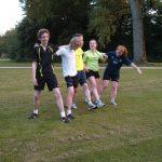 Van links naar rechts: Koen, Simon, Pepijn, Dionne, Maarit