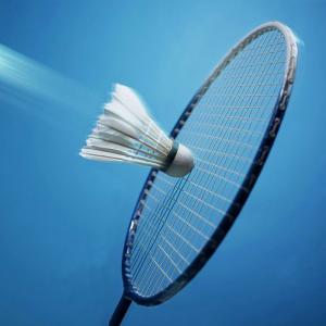Shuttle en racket