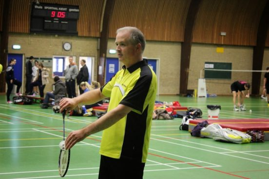 Jan-Willem Wolters tijdens de Geldropse Open Kampioenschappen 2015.